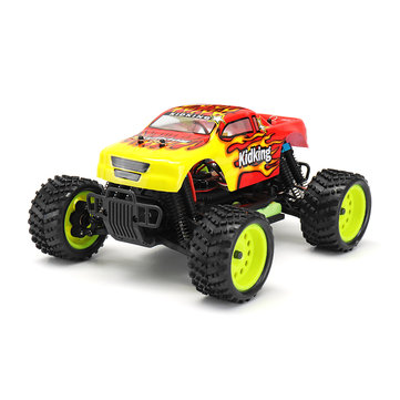 $96.3 for HSP 94186 1/16 2.4G 4WD Electric Power Rc Car Kidking Rc380 Motor Off-road Monster Truck RTR Toy
