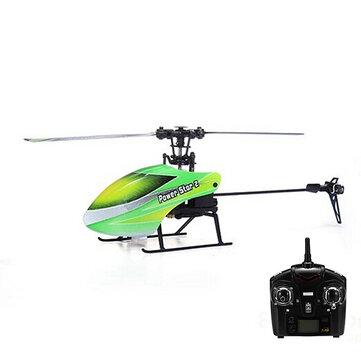 WLtoys V988 Power Star 2 4CH 6 Axis Gyro Flybarless Helicopter RTF