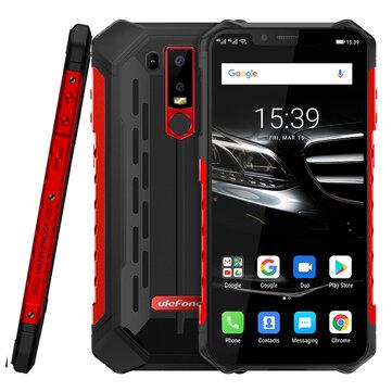 Ulefone ARMOR 6E NFC IP68 IP69K Waterproof 6.2 inch 5000mAh 4GB 64GB Helio P70 Octa core 4G Smartphone