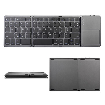 Mini Foldable Touch 3.0 bluetooth Keyboard For Samsung Dex Win or iOS or Android System