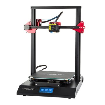 Creality 3D� CR-10S Pro DIY 3D Printer Kit 300*300*400mm Printing Size With Auto Leveling Sensor/Dual Gear Extrusion/4.3inch Touch LCD/Resume Printing/Filament Detection/V2.4.1 Motherboard
