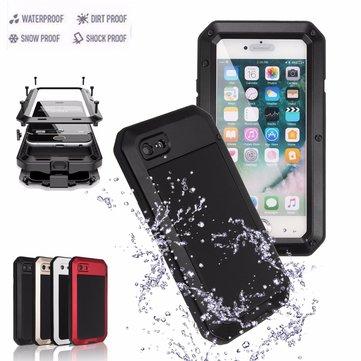 Aluminium Gel PE Shockproof Waterproof Case For iPhone 7 Plus/8 Plus