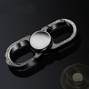 HONEST® Multi-Function Portachiavi Finger Spiral Hand Spinner Fidget Gadget Portachiavi portatile