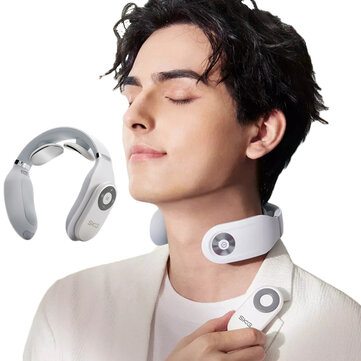 SKG Smart Bluetooth Control 3-Modes Cervical Massager U-shaped Heating Pain Relief Tool Deep Body Massage From Xiaomi Youpin