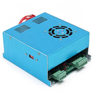 CO2 लेजर कटर एनग्रेविंग मशीन के लिए 110V / 220V 50W लेजर पावर सप्लाई MYJG-50