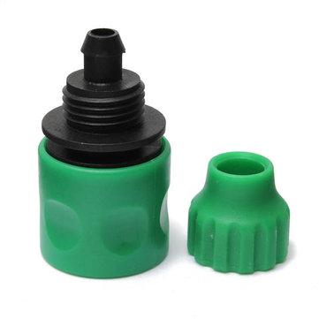 Conector rápido de la boquilla de pulverización de plástico junta de la manguera de jardín de agua 3/8 de pulgada apropiado