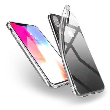 DUX DUCIS Beskyttelsesveske til iPhone XS Max Clear Soft TPU Luftpute Hjørner Bakdeksel