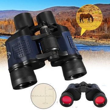 IPRee® 60x60 Optical Binocular Low Light Level Night Vision Telescope HD High Clarity 3000M