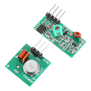433Mhz RF Transmitter With Receiver Kit For Arduino ARM MCU Wireless
