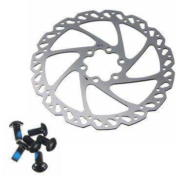BIKIGHT Novich Clean Sweep 160mm Cycling Bicycle Bike Brake Disc Rotor with 6 Bolts