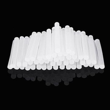 50Pcs 11mm x 100mm White Transparent Hot Melt Gule Sticks DIY Craft Model Repair Adhesive