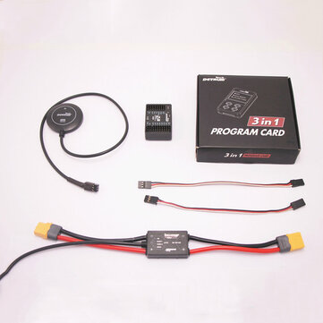 Detrum Z3-FPV FPV Aircraft Flight Control Built-in OSD With 3-in-1 Programming Card GPS & PMU for FPV RC Drone