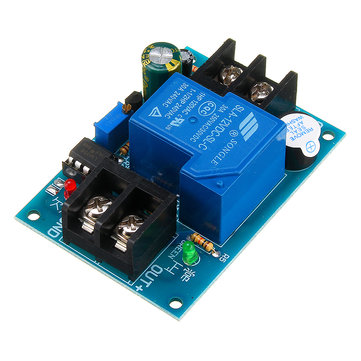 Universal 12V Battery Anti-discharge Controller with Delay Anti-over-discharge Protection Board Low Voltage Undervoltage Protection