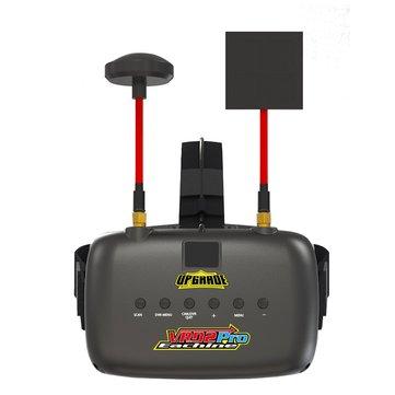 Eachine VR D2 Pro 5 इंच 800 * 480 40CH 5.8 जी विविधता एफपीवी चश्मा डीवीआर लेंस आरसी ड्रोन के लिए समायोज्य