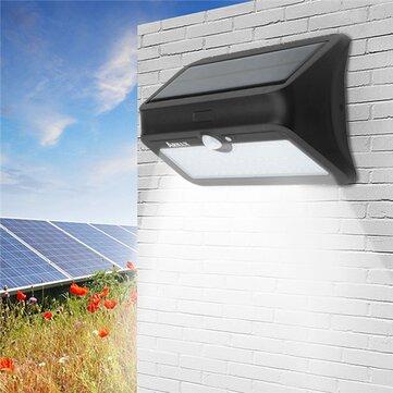 ARILUX® AL-SL 13 46 LED Solar Powered PIR Motion Sensor Wall Light Waterproof Security Outdoor Lamp