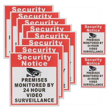 10 Camera Camera Giám sát Dấu hiệu Đăng ký Thông báo bảo mật Mặt bằng được giám sát trước 24 giờ