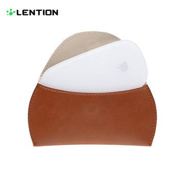 Lention Wireless Mouse Lærveske Veske til MacBook Air Pro