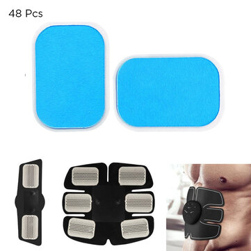 48PCS Gel Pads EMS Abdominal Muscle Trainer Stimulator Exerciser Pads Slimming Machine Accessories for sale in Litecoin with Fast and Free Shipping on Gipsybee.com