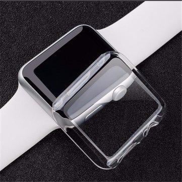 Gjennomsiktig Clear Thin Hard Clip På Case Cover Beskyttelsesfilm For 38 / 42mm Apple Watch 1