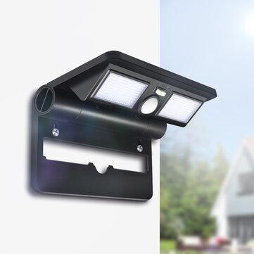 [2019 Third Digoo Carnival] Digoo DG-FCR-1 Garden Porch Patio LED Lamp Folding Lights Solar Wireless PIR Sensor Waterproof Wall Light