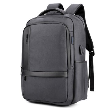 18 inch Laptop Bag with USB Charging Laptop Backpack Large Capacity Waternincsof