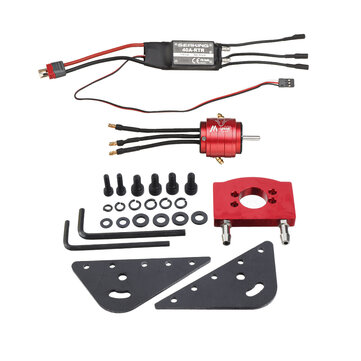 2s 3s 40A Double Sides Hobbywing ESC 2835 Brushless Motor Water Cooling Set RC Boat Parts