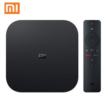 Xiaomi Mi Box S 2GB DDR3 8GB 4K Android 8.1 5G WIFI bluetooth4.2 TV Box with Voice Control