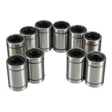 LM8UU 8mm Rodamiento Lineal de Bolas Acero de Buje para CNC Máquina del Molino del Ranurador
