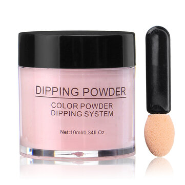Buy 10ml Nail Dipping Powder without Lamp Cure Dip Powder Long Lasting Natural Dry with Litecoins with Free Shipping on Gipsybee.com