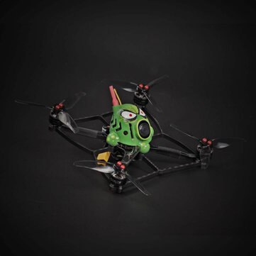 14 Min Stardrone Octopus 130mm Hand-painted FPV Toothpick FPV Racing Drone BNF GEPRC 1105 5000KV Motor Runcam Racer Nano2 Cam