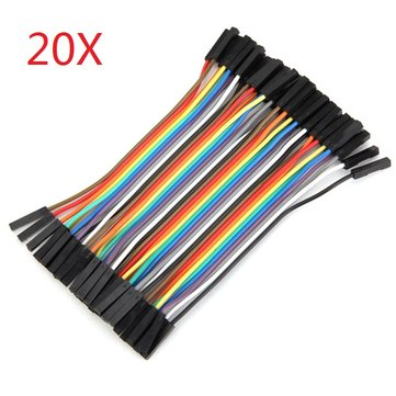 800pcs 10cm Female To Female Jumper Cable Dupont Wire For Arduino