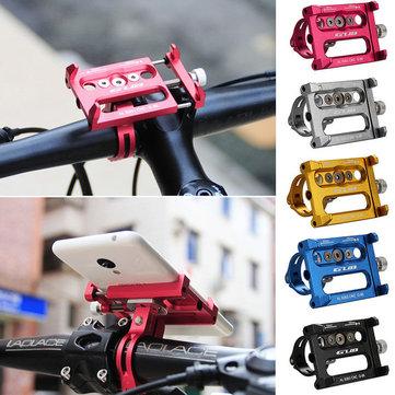 GUB G-86 Aluminum Bicycle Mount Adjustable Shockproof Phone Bike Holder Bracket Stand for Smartphone