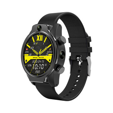 [Face Unlock] Rollme S08 50M Waterproof Ceramic Bezel 8MP Dual Camera 4G Smart Watch 3G+32G GPS Glonass 3560mAh Battery IP68 Protection Watch Phone