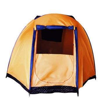 Outdoor 5-6 People Large Tent Waterproof Double Layer Family Canopy Sunshade Outdoor Camping