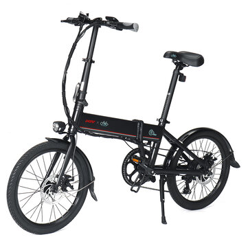 [CZ Direct] LAOTIE X FIIDO D4s Pro 11.6Ah 36V 250W 20in Folding Moped Bicycle 25km h Top Speed 90KM Mileage Range Electric Bike Coupon Code and price! - $822.8