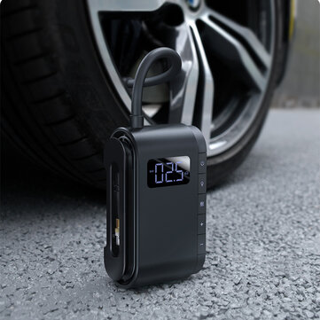 Baseus 150PSI Digital Car Air Compressor Wireless Tyre Inflator Motorcycle Bicyle Tire Inflatable Portable Electric Auto Pump