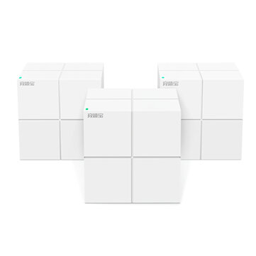 Buy Tenda Nova MW6 Wireless Router Whole Home Mesh Wireless WiFi System with 11AC 2.4G/5.0GHz WiFi Wireless Router and Repeater, APP Remote Manage with Litecoins with Free Shipping on Gipsybee.com