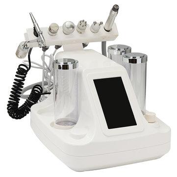 6 in 1 RF Beauty Machine Ringiovanimento della pelle Pulizia della pelle Peeling Lightening Trattamento BIO Acne