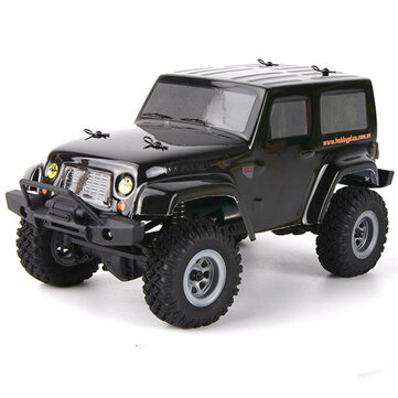 URUAV 1/24 2.4G 4WD Mini Rc Car Proportional Control Waterproof Crawler Electric Vehicle RTR Model
