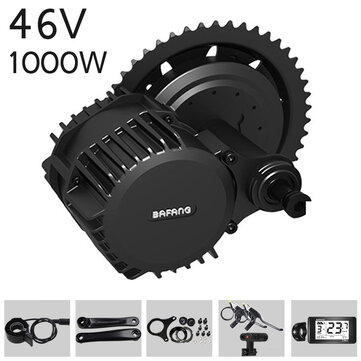 BAFANG BBSHD 48V 1000W 68/100/120mm Bicycle Modified Electric Mid-drive Motor Kits Set Electric Bicycle Conversion Kits 8fun Motor
