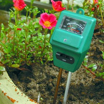 Miernik PH i wilgotności gleby KCASA KC-SMT100 Pro za $4.44 / ~17zł