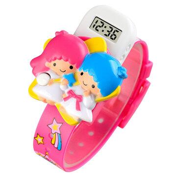 SKMEI 1749 Cute Angle Baby Cartoon LED Display Digital Watch Fashionable Children Kids Watch