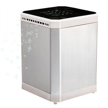 AUGIENB Mini Ionic Air Purifier Negative Ion Generator Timing With 3 in 1 Filter
