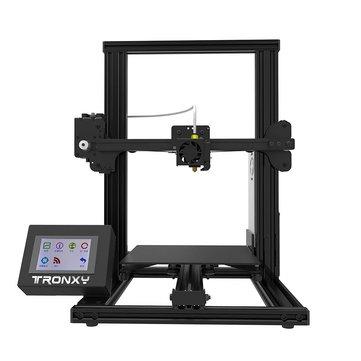 TRONXY® XY-2 Alüminyum 3D Yazıcı 220x220x260mm Baskı Boyutu 3,5 Tam Renkli Dokunmatik Ekran / Hızlı Baskı Hızı / Bowden Ekstruder / Çift Fanlar / Güvenlik Tasarım