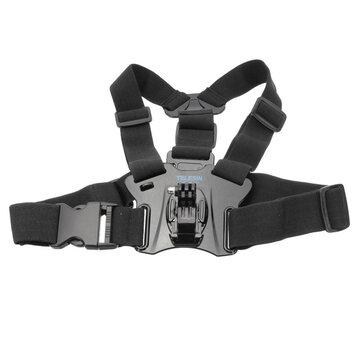 Adjustable Chest Strap Belt Body Tripod Harness Mount Gopro Hero 5 4 3 2 1 SJCAM Xiaomi Yi