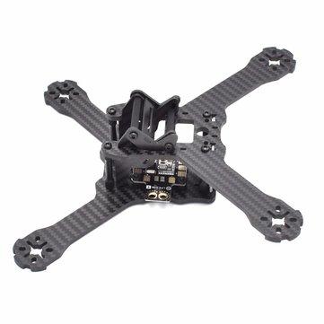 Realacc Phoenix X210S 210mm 3K Carbon Fiber FPV Racing Frame RC Drone 4mm Frame Arm w/ LED Board 5V & 12V PDB