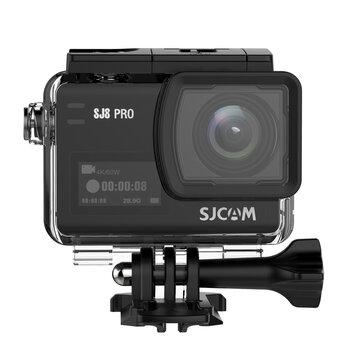 SJCAM SJ8 9 734669 4 के 60 एफपीएस एक्शन कैमरा डुअल स्क्रीन स्पोर्ट कैमरा डीवी एम्बारेला एच 22 चिपसेट बिग बॉक्स