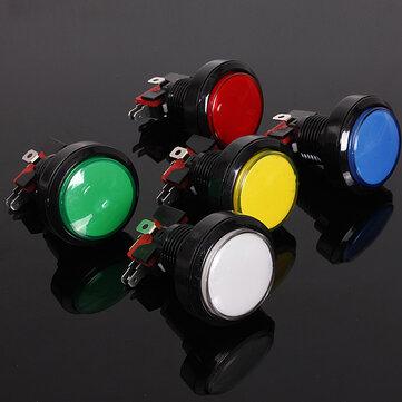 45mm Arcade Video Game Big Round Push Button LED Lighted Illuminated Lamp