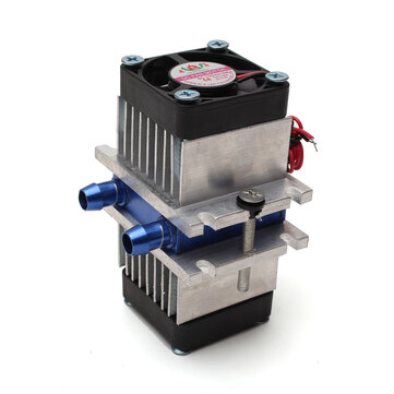 DIY Thermoelectric Peltier Semiconductor Refrigeration Cooling System + Fan Kit