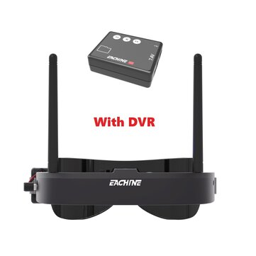 Eachine EV100 720*540 5.8Ghz 72CH FPV Goggles with 1280*480 Mini DVR Built-in Battery For RC Drone